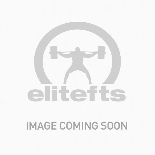 EliteFTS Lite Training Wrist Wraps Black w/Blue and Grey Stripe 80CM