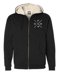 elitefts EFX Sherpa Lined Full Zip Hoodie