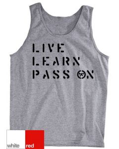 Live Learn Pass On Tank