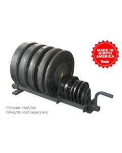 Horizontal Plate Rack Black (Full Set)