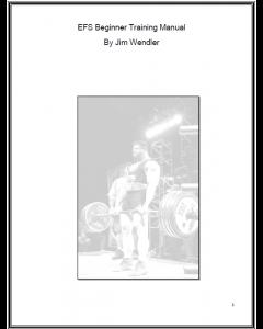 elitefts Beginner Training Manual (eBook)