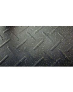 Straight Edge Rubber Floor Mats - 25 Piece Bundle