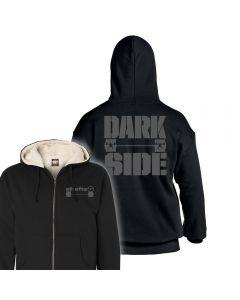 elitefts Darkside Barbell Sherpa Lined Full Zip Hoodie