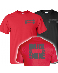 elitefts Darkside Barbell T-Shirt
