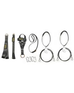 Spud Econo Triceps Lat and Low Pulley Combo Black