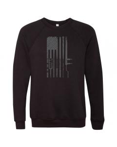 EliteFTS Flag Barbell Crewneck Sweatshirt