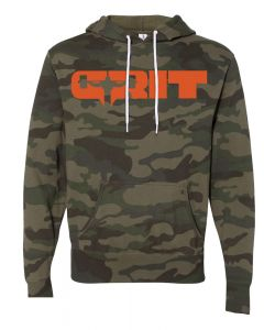 elitefts Grit Orange Lightweight Hoodie