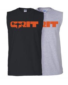 elitefts Grit Orange Sleeveless