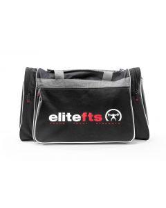 elitefts BLACK/RED Crescent Duffel Bag