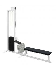 elitefts™  Low Row with Bench - Selectorized