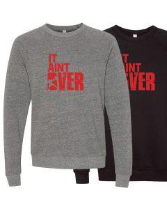 elitefts It Aint Over Crewneck Sweatshirt
