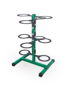Vertical Medicine Ball Rack - Holds 10 Balls