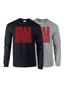 elitefts Only 3 Spots Left Long Sleeve T-Shirt
