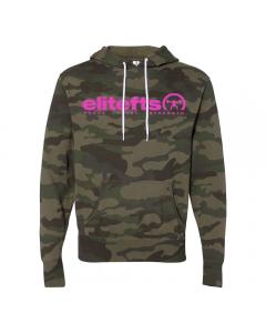 EliteFTS Tagline Pink Lightweight Hoodie