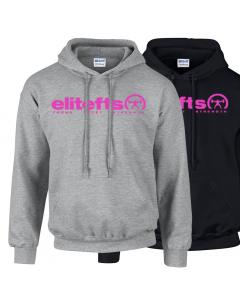 EliteFTS Tagline Pink Hoodie