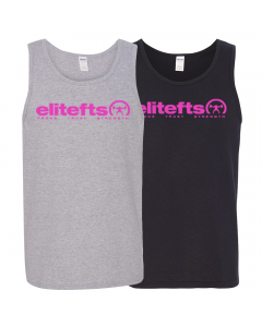 EliteFTS Tagline Pink Tank Top