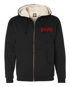 elitefts PPP Small Sherpa Lined Full Zip Hoodie