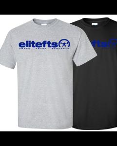 EliteFTS Tagline Royal Blue T-Shirt