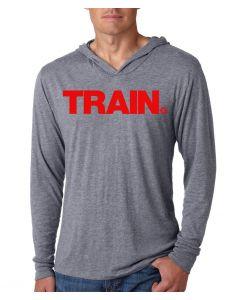 Red Train Next Level Unisex Hood