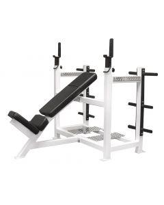 Olympic Incline Bench w/ Weight Racks