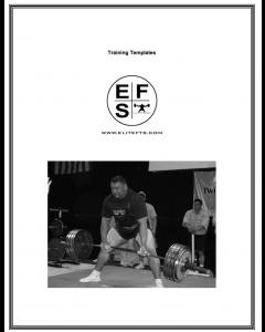 Training Templates by Jim Wendler (eBook)
