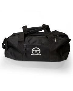 elitefts White Crescent  Gym Bag  BLACK