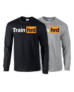 elitefts Train Hard Long Sleeve T-Shirt