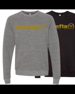 EliteFTS Tagline Vegas Gold Crewneck Sweatshirt