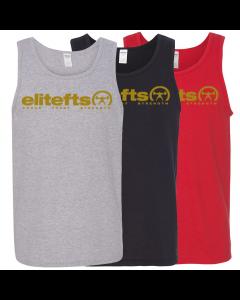 EliteFTS Tagline Vegas Gold Tank Top