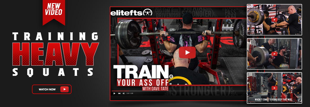 train your ass off squats