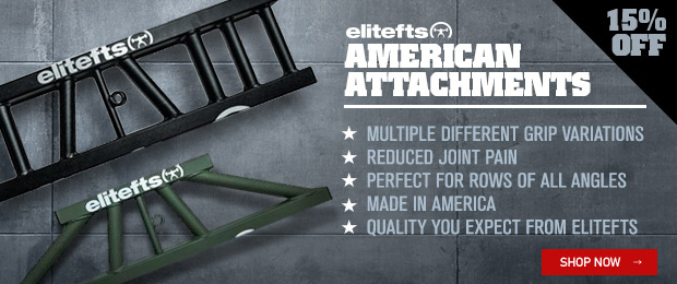 elitefts american attachments