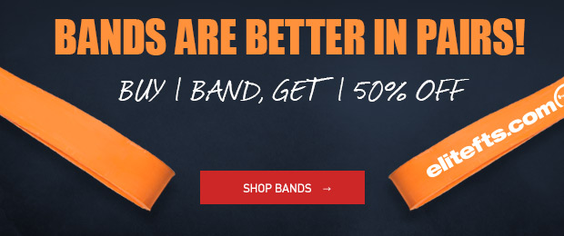 buy one get one 50% off bands