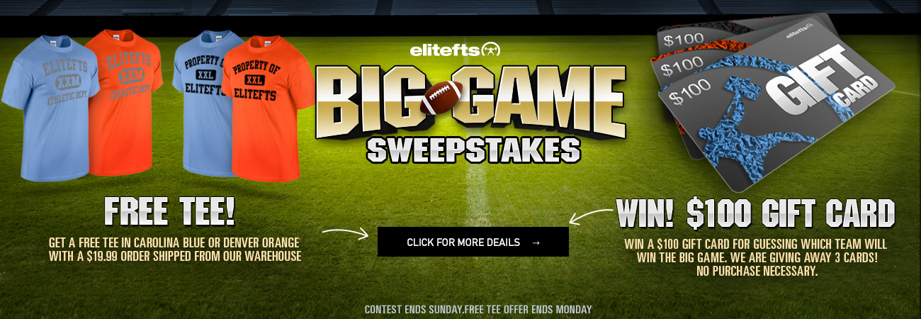 big game sweepstakes