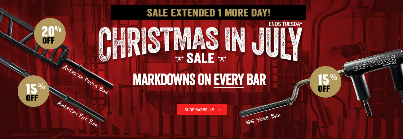 christmas in july bars sale