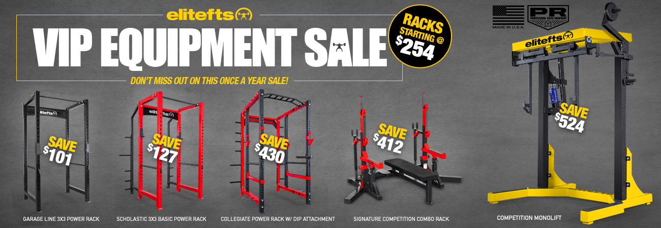 annual equipment sale