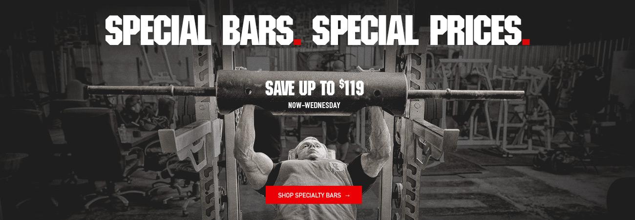 specialty bar sale