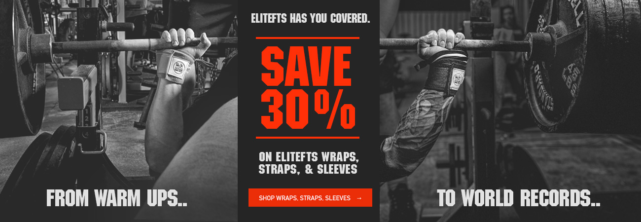 elitefts wraps, straps, sleeves sale