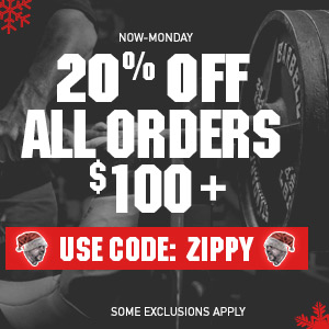 20% off your $100 order