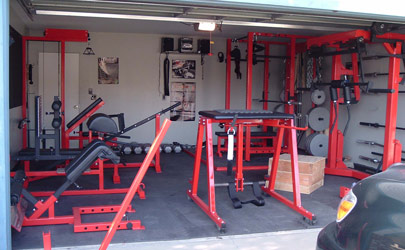 Sick of your gym u how to start a private or home gym elite fts