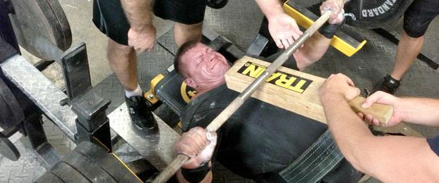 PR Rx: Todd Brock's Bench Routine