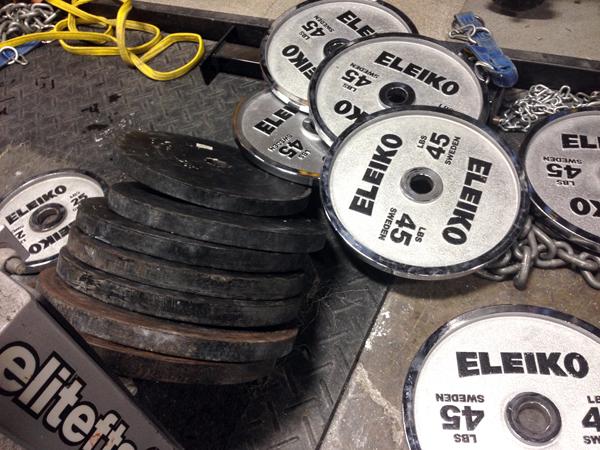weights elitefts one car garage 080514