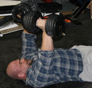 Floor Press - Dumbbells / Elite FTS