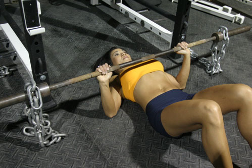Attractive Floor Press W/ Chains. I ...