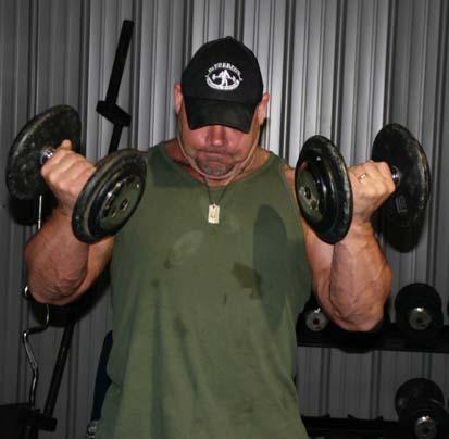Double Biceps Curl Elite Fts