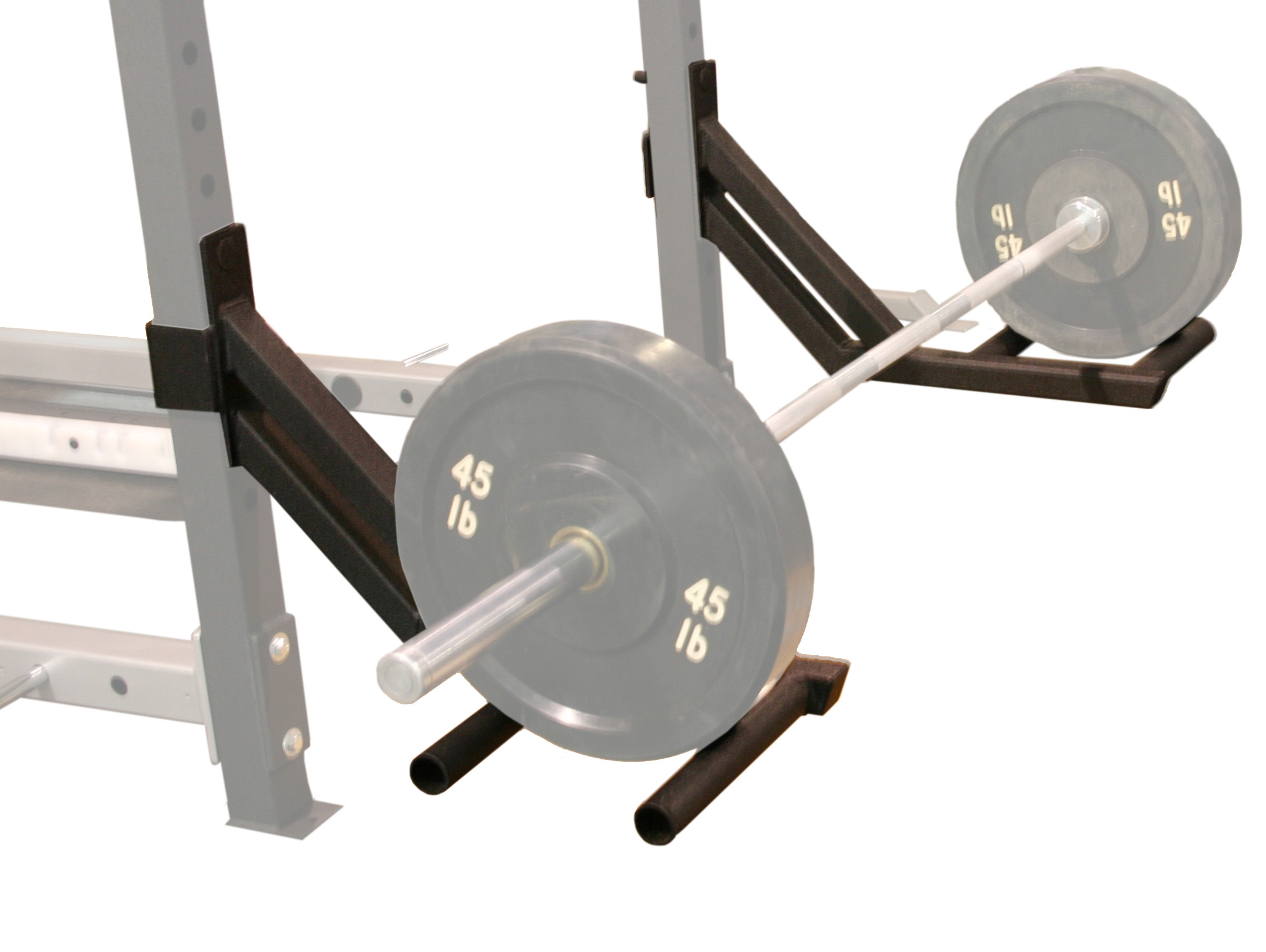 the of cage squat wood build used out img own bar rack i for your power supports wooden what