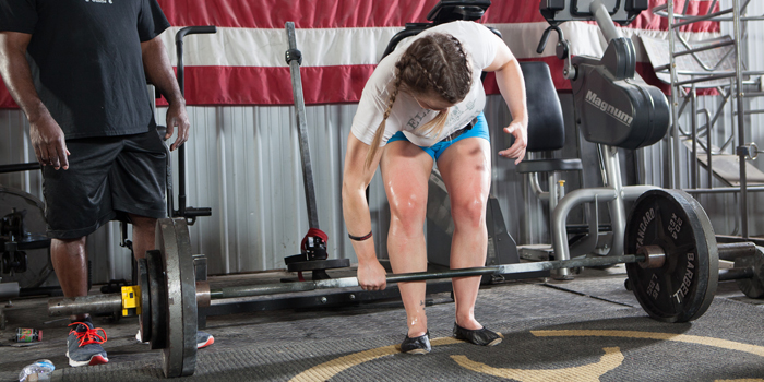 Deficit Deadlifts and Rows