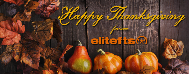 Thanksgiving Message from Dave Tate