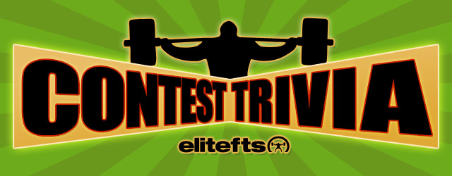 Elitefts™ Trivia Contest: Wanna Win Some Free elitefts™ Premium Bands?