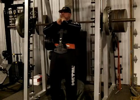 front squat on smith machine