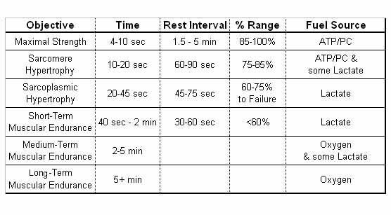 Optimal Weight/Set/Rep Range For Functional Gains | Sherdog